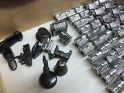 Blackened Sterling Silver Monopoly Pieces22 Hotels 32 Houses And 8 Game Pieces