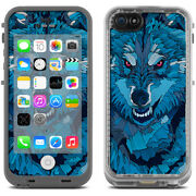 Skin Decal For Lifeproof Iphone 5c Fre Case / Blue Wolf