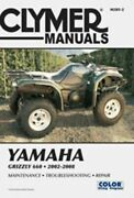 Clymer Service And Repair Manual For 2002-08 Yamaha Yfm660 Grizzly - M285-2