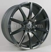 Mercedes Sl Roadster R231 Amg Grey Matte Forged Front Wheel 2013 And Up New