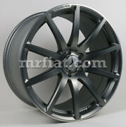 Mercedes Sl Roadster R231 Amg Grey Matte Forged Rear Wheel 2013 And Up New