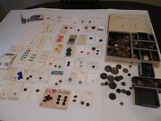 Huge Vintage Button Lot 100and039s Loose Holland Japan Ireland Germany 150 On Cards