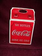 2005 Issue Coca-cola Six Bottles Carrier Collectible Ceramic Cookie Jar