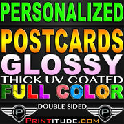 100,000 Postcards Full Color 4x6 Glossy Uv Coated 2 Sided 4x6 Pro Printing