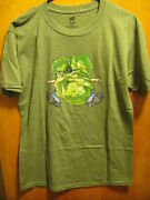 New Bells Brewing Michigan Small Hopslam Ale Beer 2 Sided T Shirt + Coasters