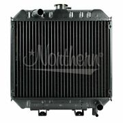 Radiator Made To Fit Ford New Holland 17 3/4 X 18 X 3 3/8 D2nn8005d 650, 6500