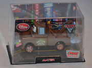 New Disney Store Pixar Cars 2 Mater Diecast Car W/case Chase With Sound Wasabi