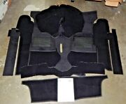 New Black Carpet Kit For Triumph Spitfire 1962-80 Factory Made In England