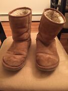 Used Chestnut Uggs Size 6