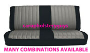 Chevrolet Truck Front Bench Seat Covers Two Fabric Factory Replacement 1973-80