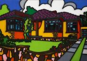 Howard Arkley - Triple Fronted - Limited Edition Print - 1988 - Small Size