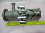 Vacuum Flange W/ Kf16 Connection And Iso Bellows Flange For Vacuum Pump 420911