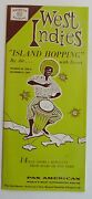 Pan American Airlines Brochure For West Indies Island Hopping 1958