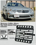 For 03-08 Mb Sl-class No Pdc R230 Front Tow Hook License Plate Relocator Bracket
