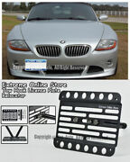 For 02-08 Bmw E85 Z4 Stand Front Tow Hook License Plate Mount Relocator Bracket