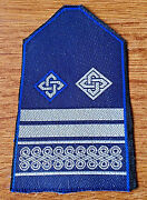 Croatia Police - Police Rank - 1995 - 1996 Proposal Rank Never Accepted Type 3