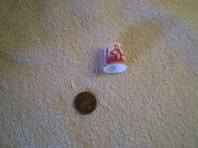 Thimble, Spode, Vintage Bone China, England, Woman At Well, Red And White 10