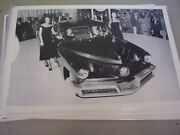 1948 Tucker On Display At Auto Show In 48  12 X 18 Large Picture / Photo