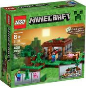 Lego Minecraft - 21115 The First Night / Steves Haus Mit Creeper - Neu And Ovp