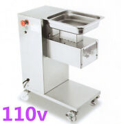 110v 500kg/h High-quality Stainless Steel Meat Slicer Cutter Cutting Machine