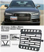 For 2016-2018 Audi A7   S7   Rs7 Front Tow Hook License Plate Relocator Bracket