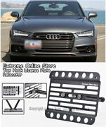 For 2016-2018 Audi A7 | S7 | Rs7 Front Tow Hook License Plate Relocator Bracket