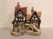 David Winter Will-o-the Wisp Cottage Guild Piece No. 10 Issued 1991 Rare