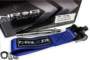 Nrg Tow Strap Blue Screw On Type Front Side 13-15 Scion Frs / Brz Tow-122bl