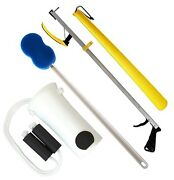 Rms Deluxe Hip Kit, Knee Replacement Kit, 32 Or 26 Inches Reacher