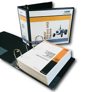 Case 885 3800 4600 3 Cylinder Gas Tractors Service Manual Technical Shop Book