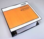 Case 885 3800 780 4600 880 David Brown 3 Cylinder Gas Tractor Service Manual
