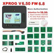 Xprog 5.84 Obd2 Car Ecu Programmer Eeprom With Cables Adapters Usb Full Kit