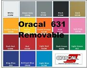 12x150 Feet Matte Oracal 631 Adhesive Backed Vinyl For Cricket Silhouette Cameo