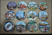 Disney 40th Year Anniversary Collectible Plates