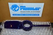 Pfaudler Cryo-lock 2 Blade Pitched Glass Reactor Mixer Turbine Impeller 040213