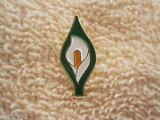Easter Lily Badge Support Irelands Patriots Irish Tri/color Pin Badge Aoh
