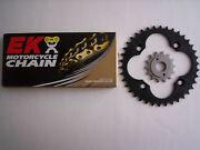 Honda 99-04 Trx400ex New Sprocket 13/39 And Ek Sro O-ring Chain Set/kit Take Off