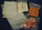 Vacuum Seal Sealer Pouch Pouches Pack Food Bags Clear Butchers Meat Bag 70micron