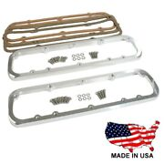 Billet Aluminum Valve Covers Adapters Allows Ford Sbf Valve Covers Fit Chevy Sbc