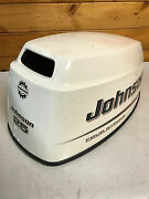 2004 Johnson 25 Hp 4 Stroke 3 Cylinder Hood Cover Top Cowl Freshwater Mn