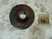 Snapper Snow Blower Tecumseh 5hp H50 Engine Oem - Pto Drive Pulley