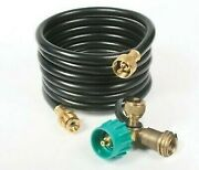 Camco 59143 Olympian 90 Degree Appliance Tee Propane Kit With 12' Hose