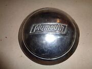 Plymouth Hubcap 30's