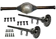 Ford 9 Inch 56 Hd New Smooth Back Rear End Housing Kit With 28 Spline Axles Hdw