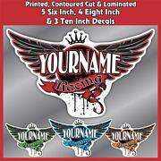 Your Name Racing Decals Pack Trailer Car Imca Model Modified Sprint Stock Team