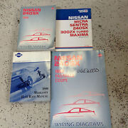 1990 Nissan 240sx Service Repair Shop Manual Factory Oem W Electrical Wiring +