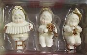 Dept 56 Snowbabies Musical Trio Ornaments New In Box 69178