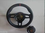 991 R 997.2 Gt 2 Rs 991 Stick Blk Leath Steering Wheel Red Top Flat Blk Center