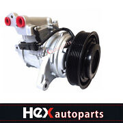 A/c Compressor With Clutch Fits Tj Wrangler 00-06 Jeep Grand Cherokee 99-04