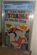 Strange Tales Annual 2 1st Spider-man/human Torch Teamup Lee/kirby Marvel '63